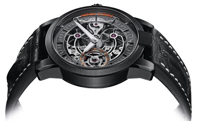 Reviewing The Perfect Awesome ARMIN STROM Skeleton Pure Barrel Bridges Manual-wind Watch
