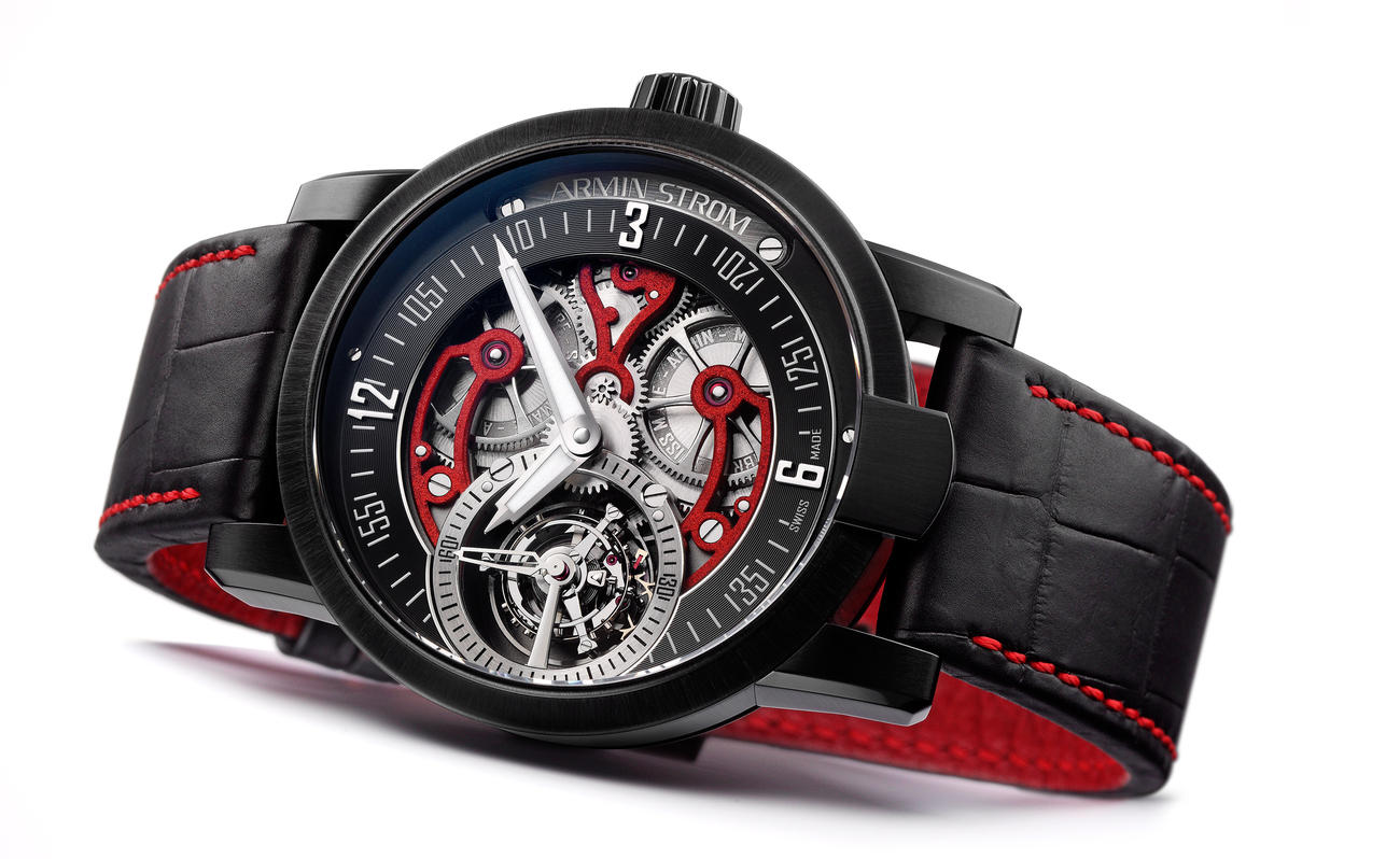 The Exclusive Replica Armin Strom Racing Tourbillon Skeleton Red Watch