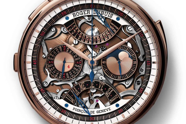 Roger Dubuis Hommage Millesime Unique  Replica Pocket Watch