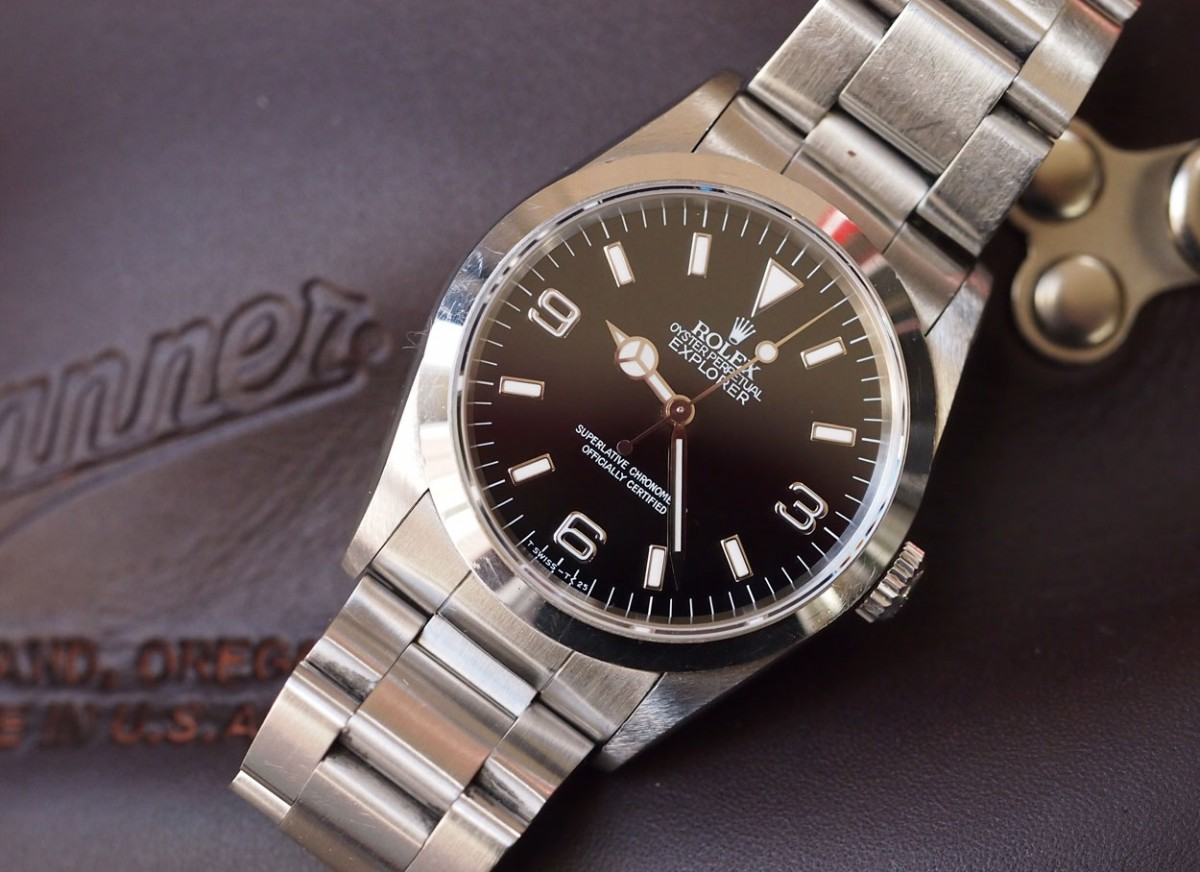 Testing the Rolex Explorer I Replica Watch