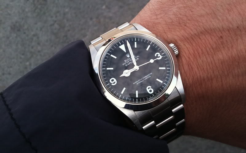 Rolex Explorer I replica