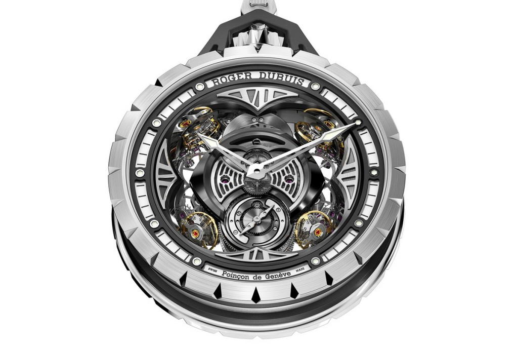 Roger Dubuis Excalibur Spider Pocket Time Instrument replica pocket watch