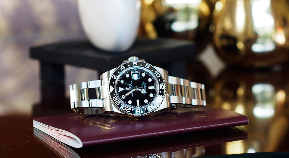 Rolex GMT-Master II Two Tone Root Beer Replica