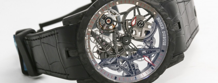 Roger Dubuis Excalibur Automatic Skeleton Carbon replica