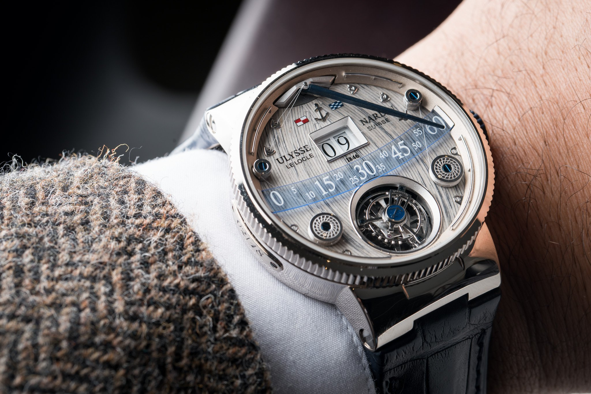 Ulysse-Nardin Grand Deck Marine Tourbillon replica
