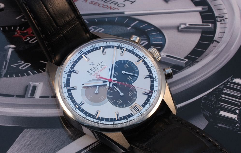 Up Close With The Handsome And Sporty Zenith El Primero Striking Tenth limited edition Replica Watch