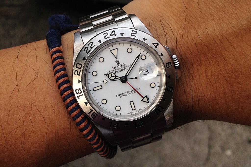 Rolex Explorer II ref. 216570 replica