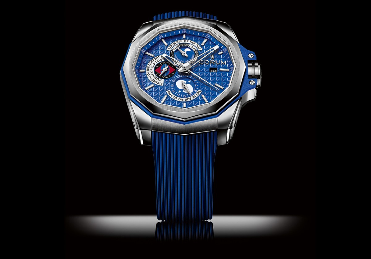 First Look At The Sporty Masculine Corum Admiral's Cup AC-One 45 Tides Replica Watch