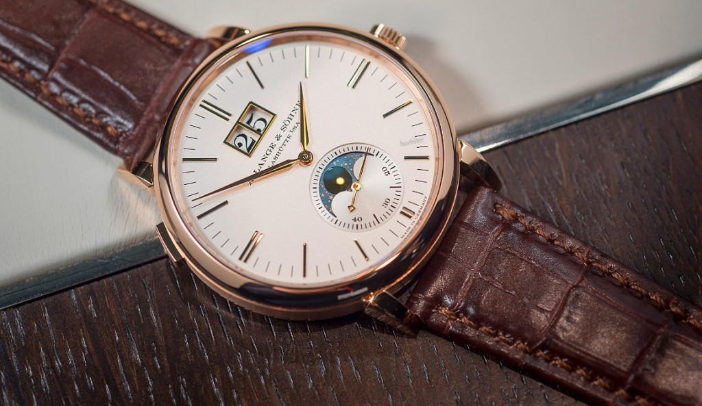 A. Lange & Sohne Saxonia Moon Phase replica