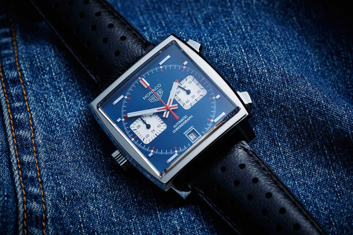 "The Very Remarkable And Classic TAG Heuer Monaco Caliber II ""Steve McQueen"" CAW211P Luxury Replica Watch For Sale Now"