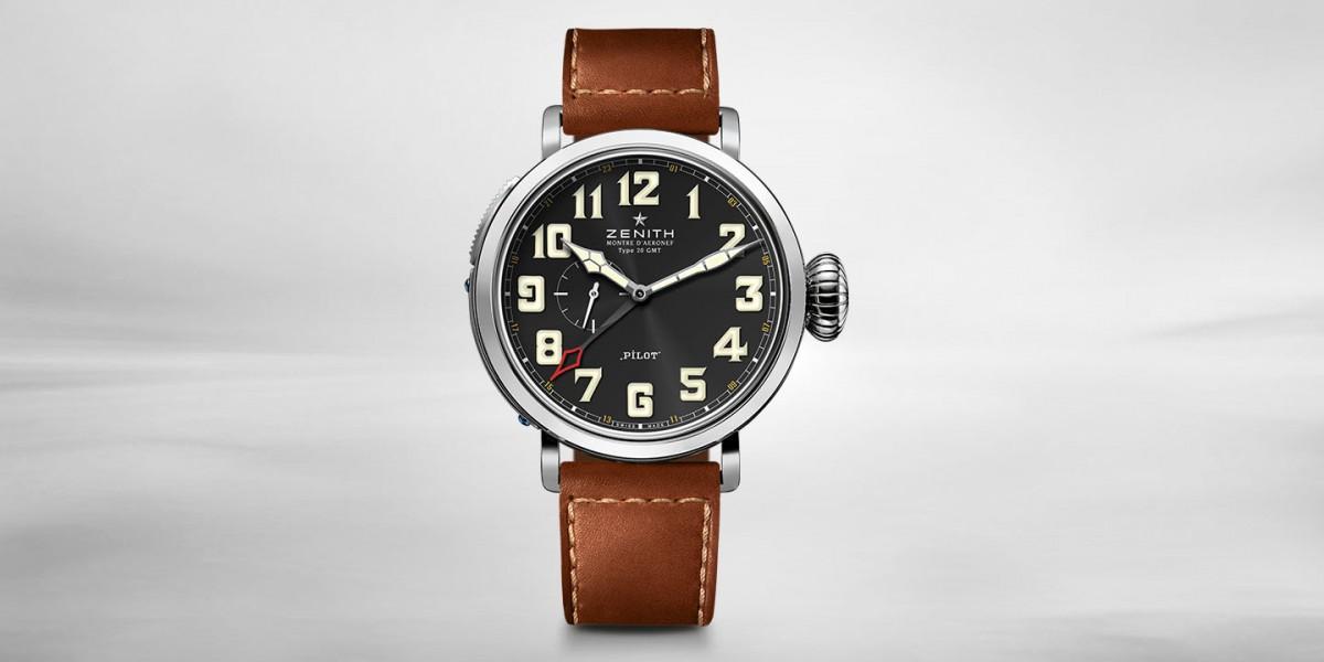 New Exclusive Zenith Type 20 Pilot Replica Watch Releases