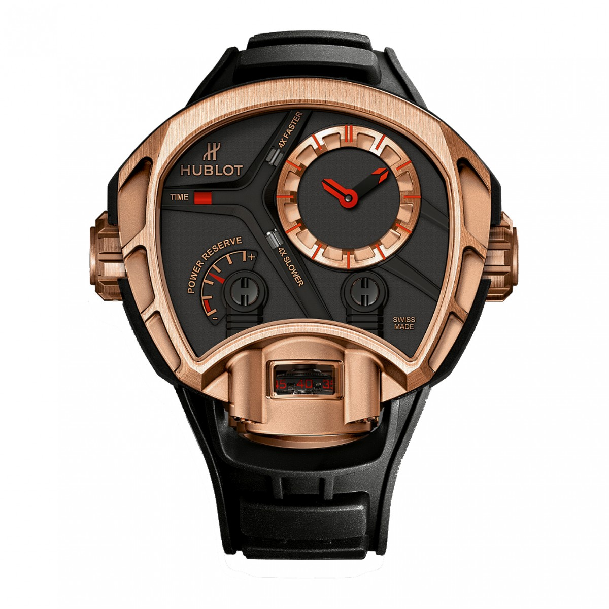 First Look The Masculine Limited Hublot MP-02 Key of Time Gold ref. 902.OX.1138.RX Replica Watch