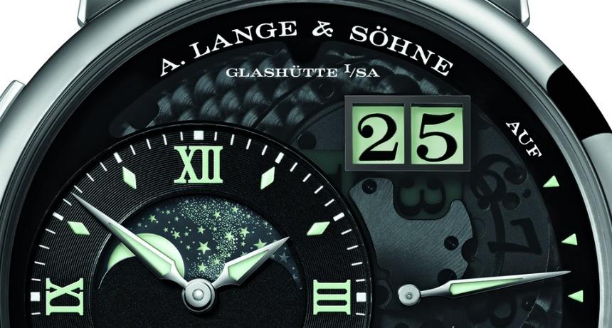 "A. Lange & Sohne GRAND LANGE 1 MOON PHASE ""Lumen"" Replica"