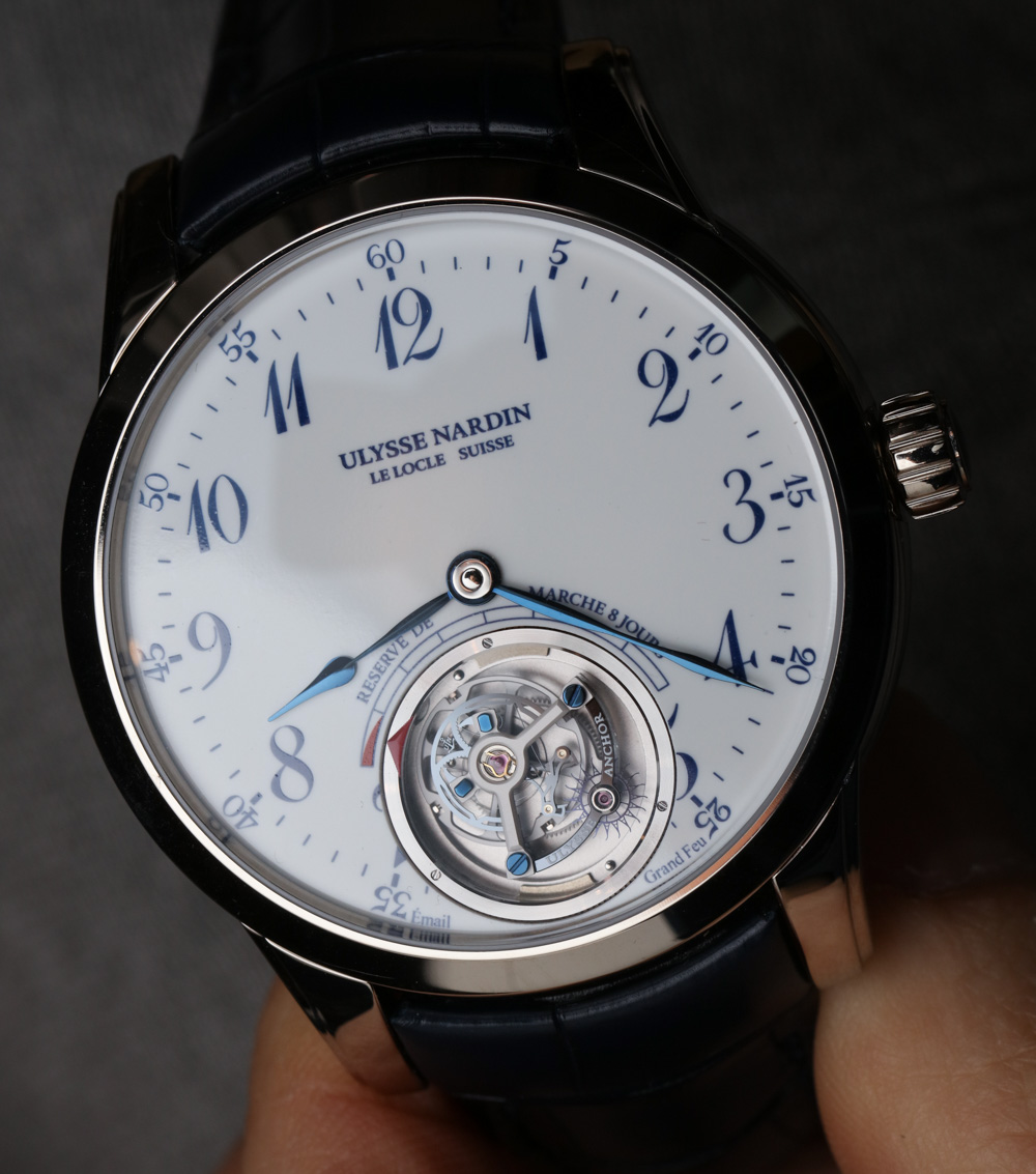 Meet The New Delicated Luxury Ulysse Nardin Anchor Tourbillon Replica Watches For 2016