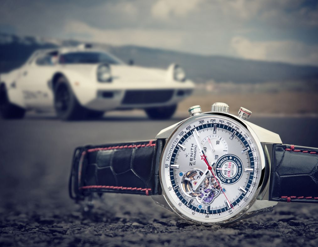 Zenith El Primero Chronomaster World Stratos Meeting replica