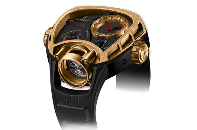 Hublot MP-02 Key of Time Gold ref. 902.OX.1138.RX replica