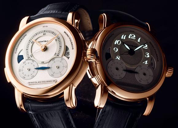 MontBlanc Nicolas Rieussec chronograph replica watch