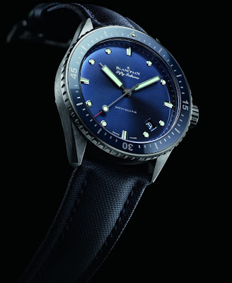 Gray Plasma Ceramic Blancpain Fifty Fathoms Bathyscaphe Watch Replica Ref.5000-0240-O52A