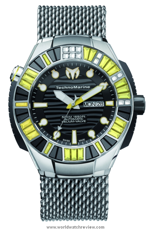 Technomarine BlackReef Ti Ultimate Automatic watch