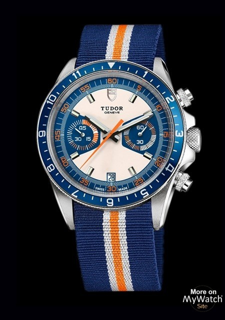 The Best Fake Swiss Tudor Chrono Blue Watch Replica