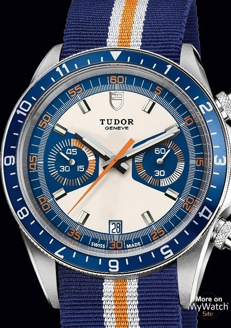 Tudor Chrono Blue watch replica