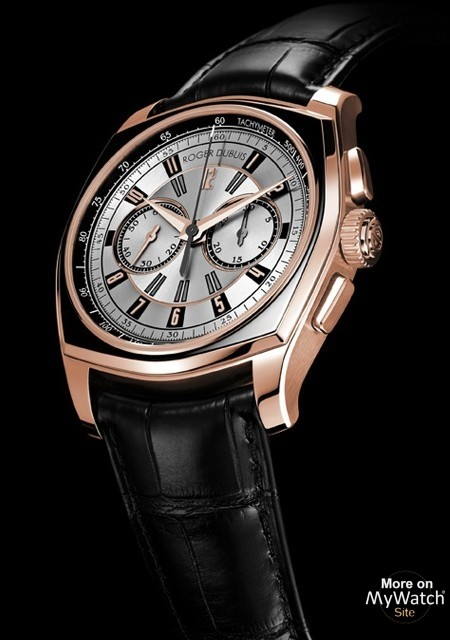 Take A Look At The Pink Gold Roger Dubuis La Monégasque Chronographe Fake Watch