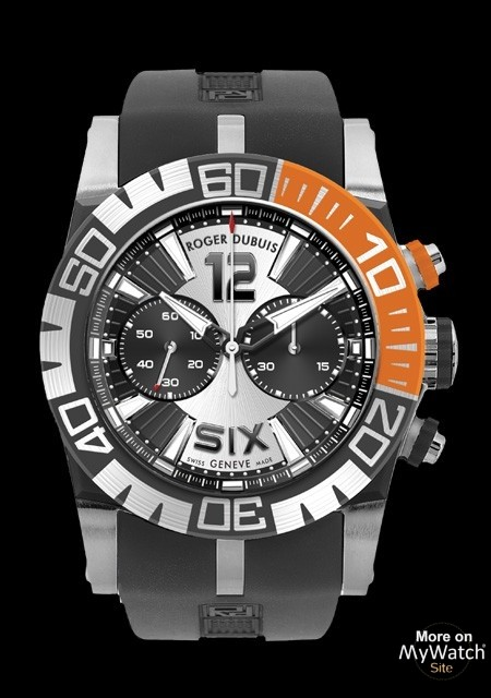 The Stainless Steel Roger Dubuis EasyDiver Chronographe Watch Replica