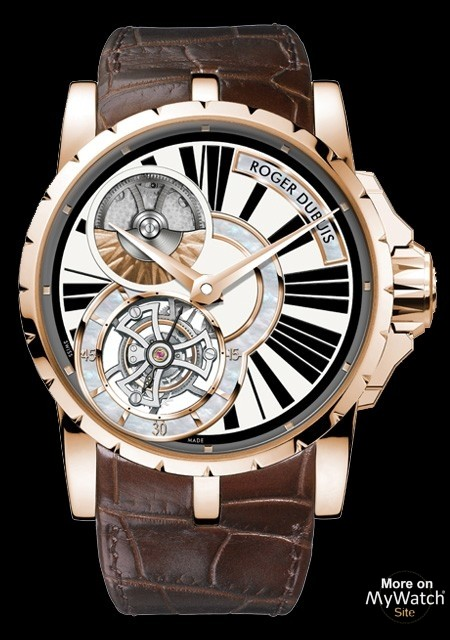 Introducing The Rose Gold Roger Dubuis Excalibur Tourbillon Watch Replica