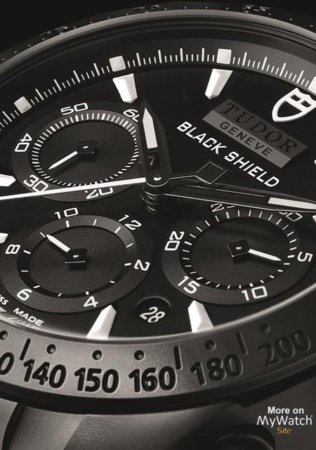 Tudor Fastrider Black Shield watch replica