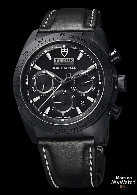 Black Ceramic Tudor Fastrider Black Shield Watch Replica