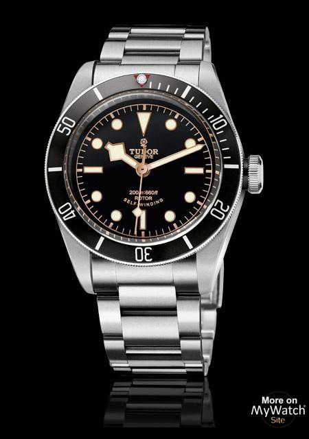 Tudor Heritage Black Bay Black watch replica