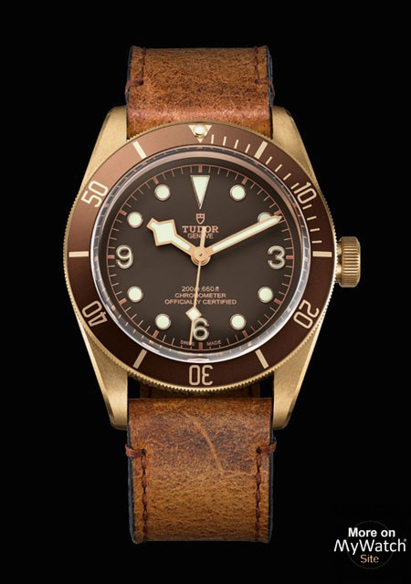 Tudor Heritage Black Bay Bronze watch replica