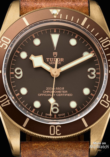 Tudor Heritage Black Bay Bronze Watch Replica