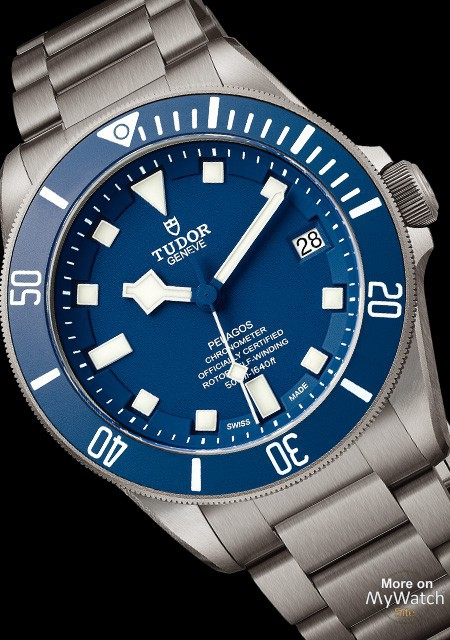Tudor Pelagos Replica Watch with Blue Dial