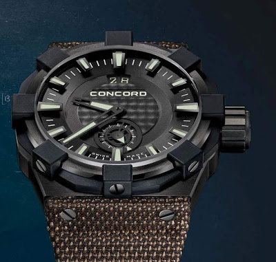 Concord C1 Big Date Radar watch replica