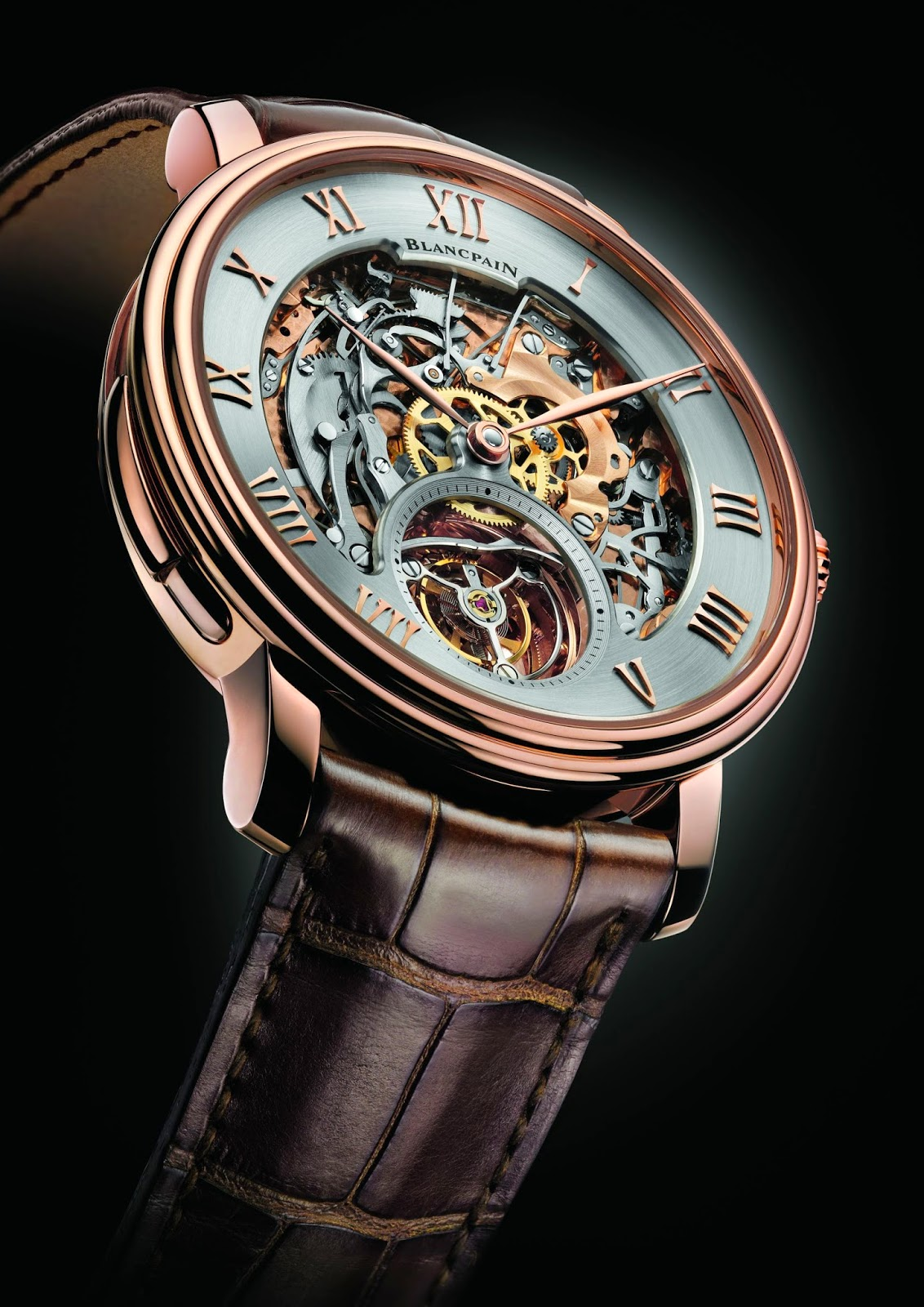 Reviewing The Skeleton Opened Dial Blancpain Carrousel Répétition Minutes Le Brassus Replica