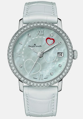 Reviewing The Ladies' Blancpain Saint Valentin 2014 Copy Watch For Sale