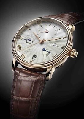 Swiss Red Gold Blancpain Villeret Demi-Fuseau Horaire Replica Watch For Sale