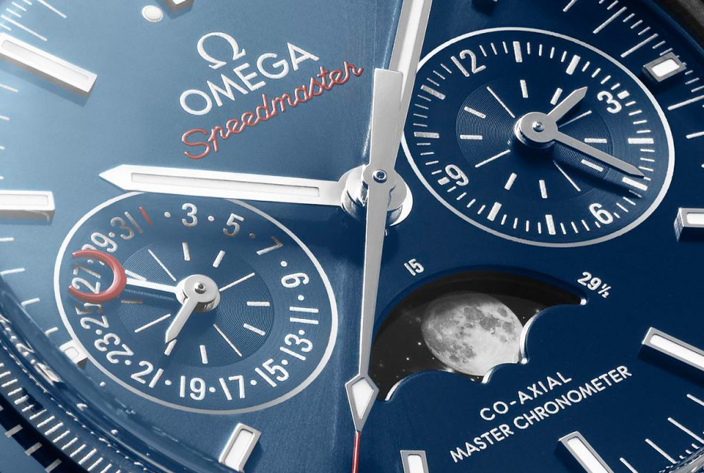 Omega Speedmaster Moonphase Co-Axial Master Chronometer Chronograph copy watch