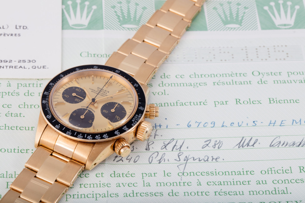 The Luxury Yellow Gold Rolex Oyster Cosmograph Daytona Copy Watches For Sale