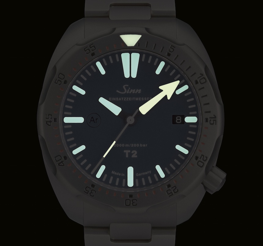 Sinn T1 B, T2 B Dive Watches: Same Titanium, More Blue Watch Releases