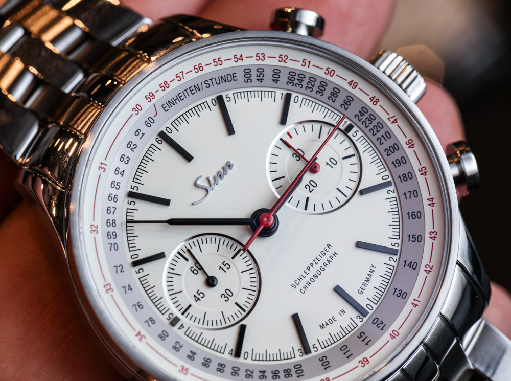 Sinn 910 Anniversary Limited Edition Split Second Chronograph Hands-On Hands-On