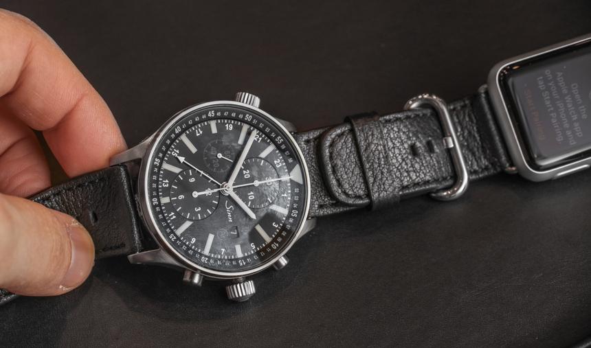 Sinn Dual Strap System Allows Apple Watch & Sinn Watches Cologne Replica Watch On The Same Wrist Luxury Items