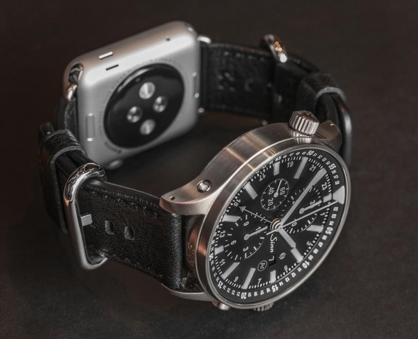 Sinn Dual Strap System Allows Apple Watch & Sinn Watches Madrid Replica Watch On The Same Wrist Luxury Items