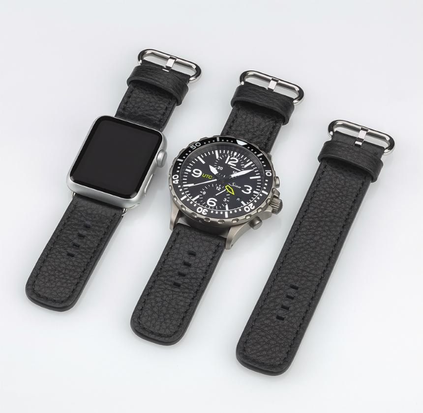 Sinn Dual Strap System Allows Apple Watch & New Sinn Watches 2014 Replica Watch On The Same Wrist Luxury Items