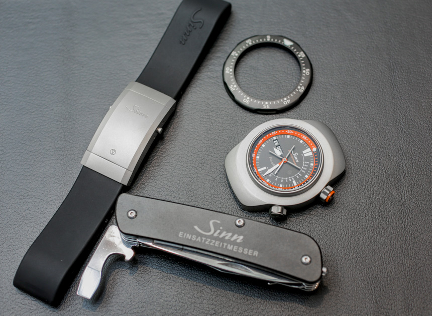 Sinn EZM 12 Air Rescue Watch Hands-On Hands-On