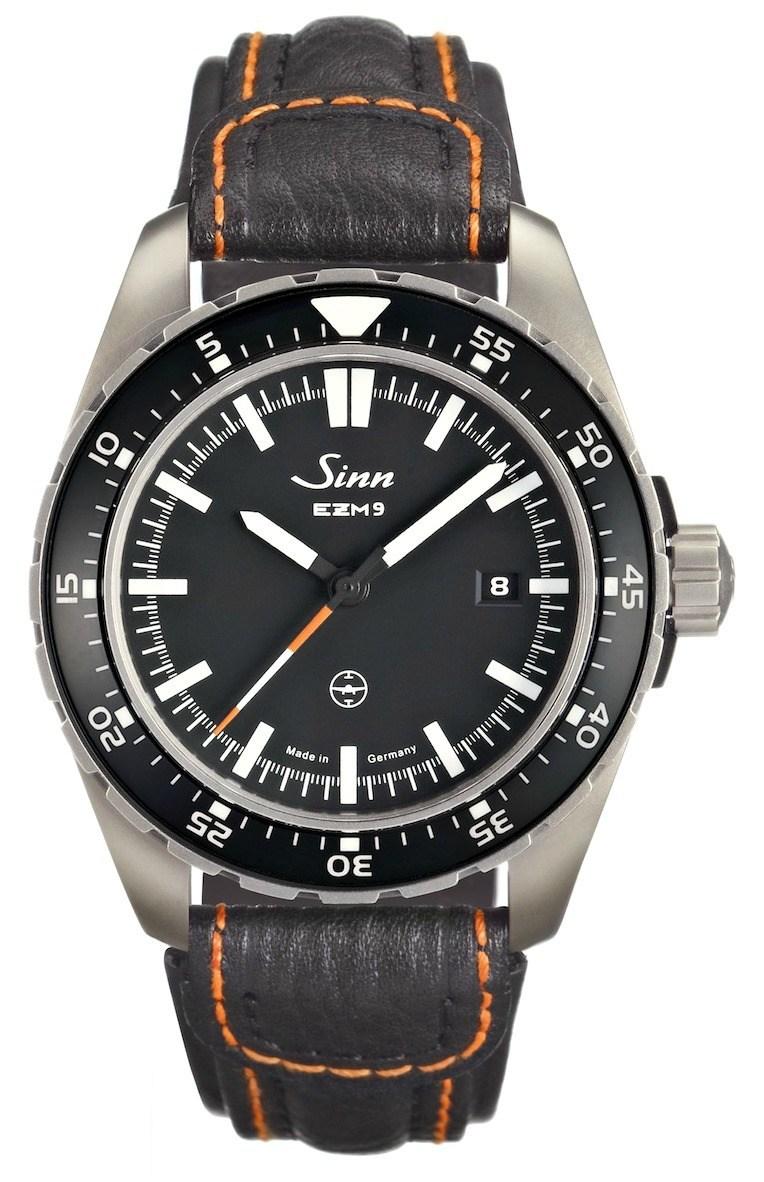 Sinn EZM9 TESTAF Watch Watch Releases