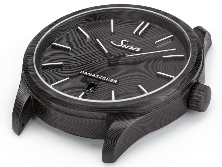 Sinn Model 1800 S Damaszener 100-Piece Limited Edition Watch In Damascus Steel Watch Releases