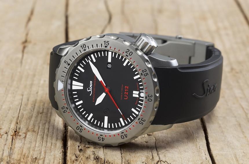Sinn U212 EZM 16 Diver's Watch Watch Releases