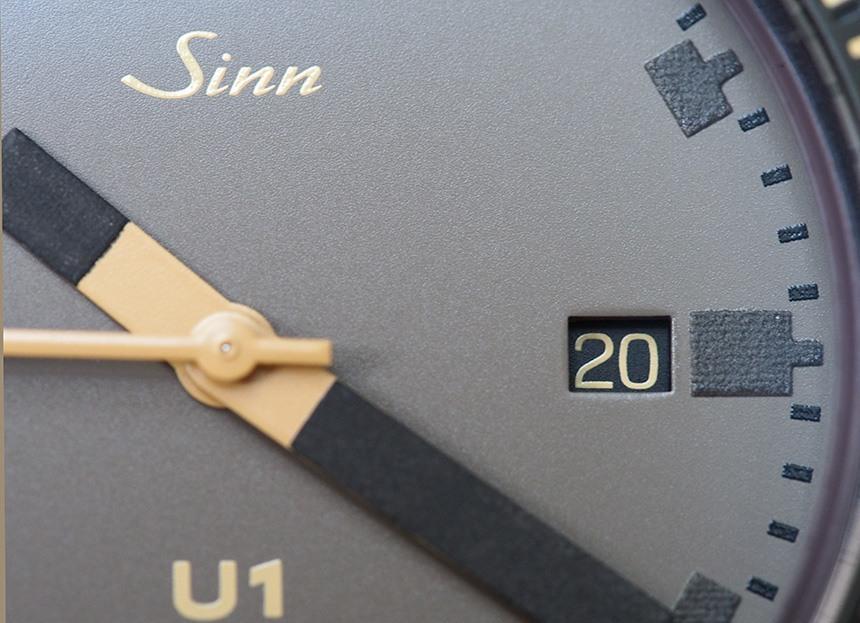 Sinn U1-D 'Dune' Limited Edition Watch Review Wrist Time Reviews